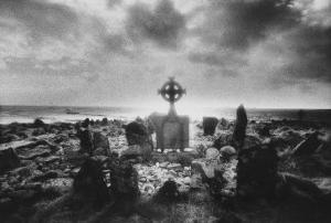 Crosspoint Cemetery, Belmullet, County Mayo, Ireland by Simon Marsden