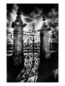 Gates, Carrouges Chateau, Normandy, France by Simon Marsden
