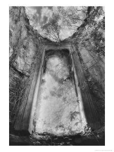 Gothic Window, Castle Bernard, County Cork, Ireland by Simon Marsden