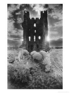Helmsley Castle, Yorkshire, England by Simon Marsden