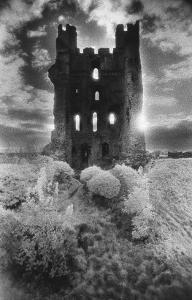 Helmsley Castle, Yorkshire, England by Simon Marsden