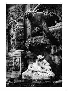 Medicis Fountain, Jardins de Luxembourg, Paris by Simon Marsden