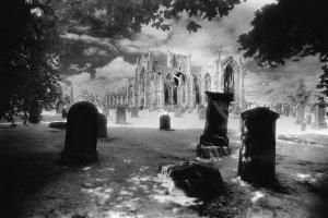 Melrose Abbey, Roxburghshire, Scotland by Simon Marsden