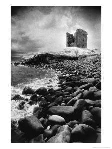 Minard Castle, County Kerry, Ireland by Simon Marsden