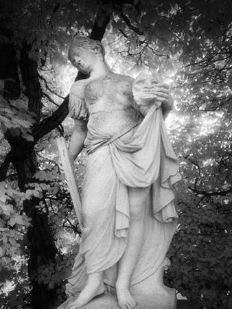 Statue at Baroque Garden, Heidenau, Germany