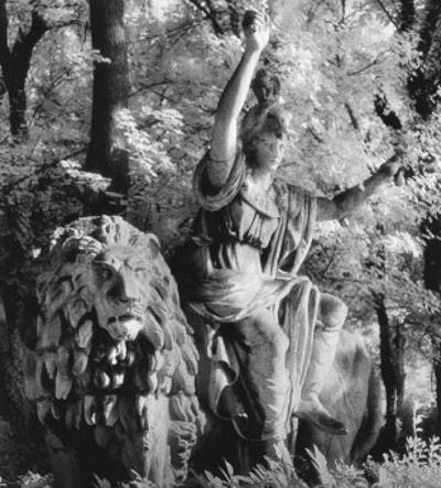 Statue in the Giardini Pubblici, Castello