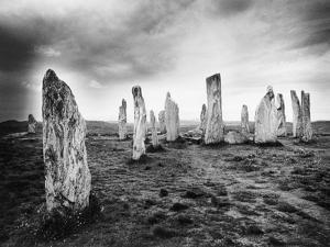 The Callanish Stones, Isle of Lewis, Outer Hebrides, Scotland by Simon Marsden