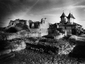 The Ruins of Vlad Dracul's Palace, Tirgoviste, Romania by Simon Marsden