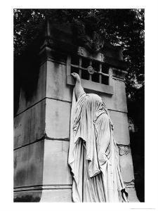 Tomb at Pere Lachaise Cemetery, Paris by Simon Marsden