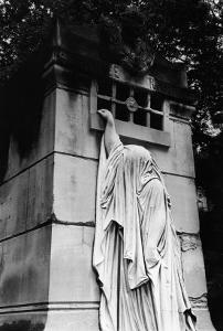 Tomb at Pere Lachaise Cemetery, Paris by Simon Marsden