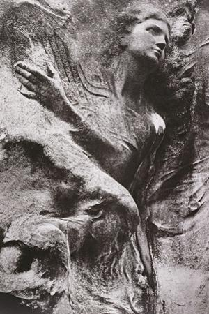 Tomb Carving, Pere Lachaise Cemetery, Paris, France