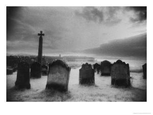 Whitby Graveyard, Yorkshire, England by Simon Marsden