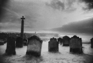 Whitby Graveyard, Yorkshire, England by Simon Marsden