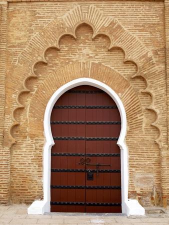 Traditional Doorway to Koutoubia Mosque
