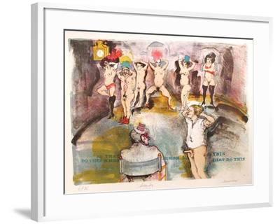 Simon Sez-Marcia Marx-Framed Limited Edition