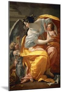 Allegory of Wealth. Between 1630 and 1635 by Simon Vouet