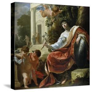 An Allegory of Peace by Simon Vouet