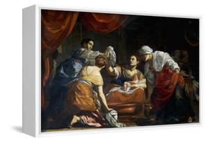 Birth of Virgin by Simon Vouet