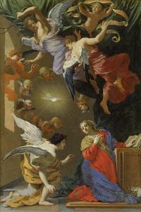 Die Verkündigung Mariae. 1650 - 1660 by Simon Vouet