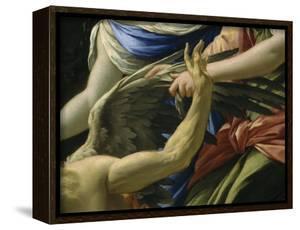 Le Temps vaincu par l'Amour, l'Espérance et la renommée by Simon Vouet