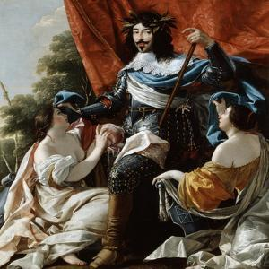 Louis XIII, 17th Century by Simon Vouet