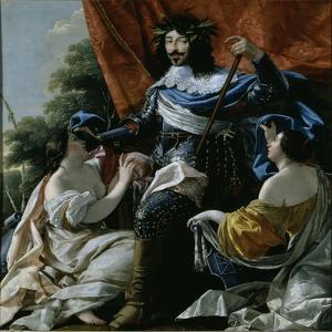 Louis XIII by Simon Vouet