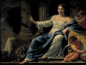 Polyhymnia by Simon Vouet
