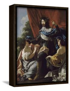 Portrait of Louis XIII of France (1601-164) by Simon Vouet