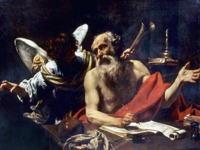 Saint Jerome & The Angel