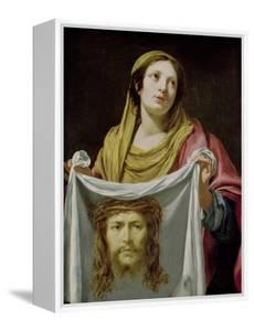 St. Veronica Holding the Holy Shroud by Simon Vouet