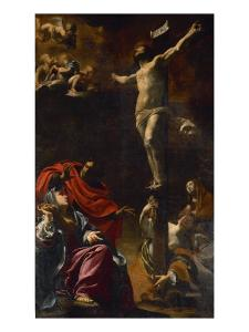 The Crucifixion, 1621-22 by Simon Vouet