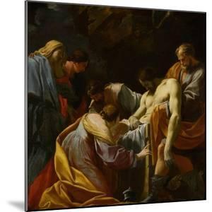 The Entombment by Simon Vouet