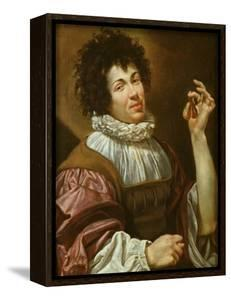 Young Man with a Fig, C.1620-30 by Simon Vouet