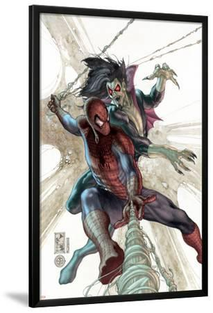 The Amazing Spider-Man No.622 Cover: Spider-Man and Morbius