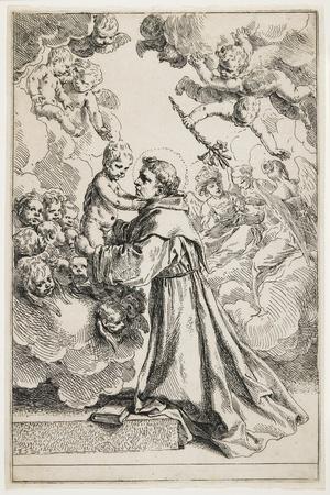 Saint Anthony of Padua, Late 1630S