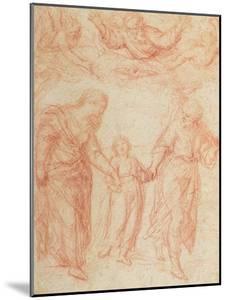 The Holy Family by Simone Cantarini