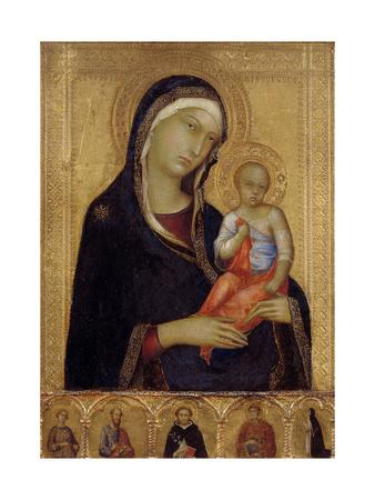 Virgin and Child, C. 1324-1325