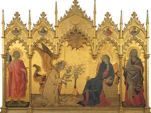 Annunciation by Simone Martini