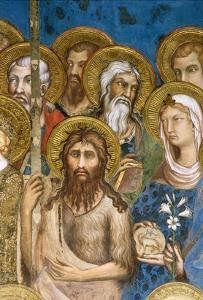 Detail of Saints and Martyrs from Maesta by Simone Martini