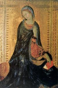 Madonna of the Annunciation, C1304-1344 by Simone Martini