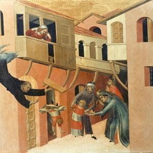 Martini: St. Augustine by Simone Martini