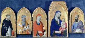 Saint Domenic's Altarpiece by Simone Martini