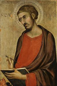 St. Luke by Simone Martini