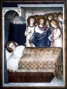 St Martin's Dream, 14th Century by Simone Martini