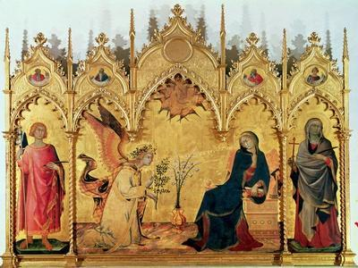 The Annunciation with St. Margaret and St. Asano, 1333