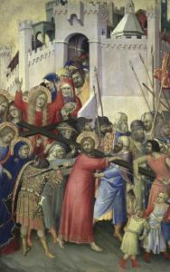The Carrying of the Cross, c.1336-42 by Simone Martini