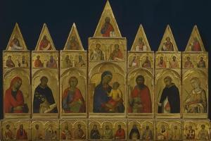 The Polyptych of Pisa, 1320 by Simone Martini