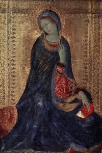 Virgin Annunciate, C1340-C1344 by Simone Martini