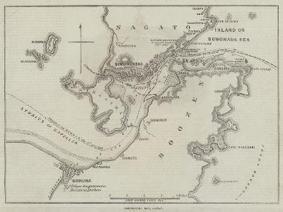 Simonoseki Bay, Japan-John Dower-Giclee Print