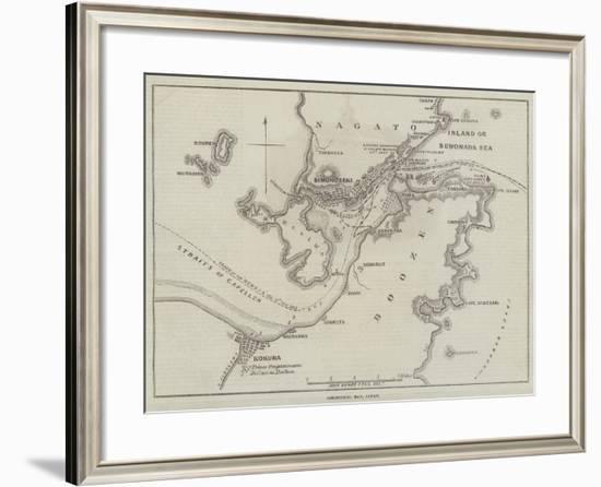 Simonoseki Bay, Japan-John Dower-Framed Giclee Print